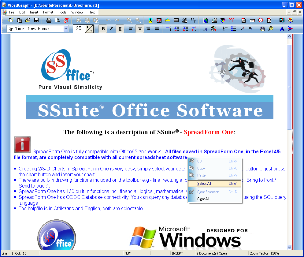 SSuite Office - The Fifth Element screenshot